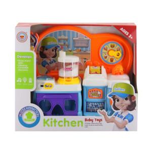 Mutfak Robotlu Büyük Mutfak Fırınlı Set