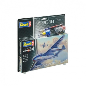 Revell 1:72 Vampire F Model Set Uçak 63934
