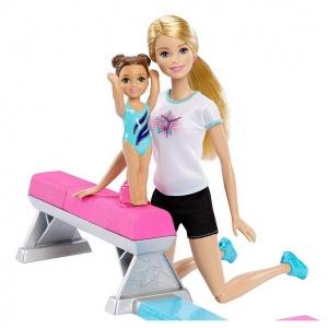 Barbie Jimnastik Salonu Oyun Seti