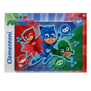 104 Parça Maxi Puzzle : PijaMaskeliler 2