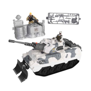 Sesli ve Işıklı Soldier Force Desert Tank Oyun Seti