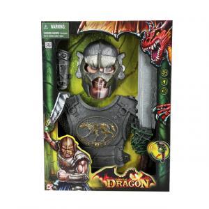 Sesli ve Işıklı Dragon Orc Role Oyun Seti
