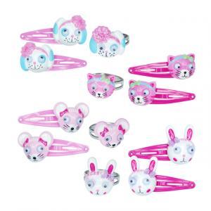 Pink Poppy Hayvan Figürlü Takı Set
