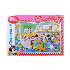 104 Parça Maxi Puzzle : Minnie Tea Time