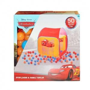 Cars 3 Oyun Çadırı 50 Havuz Toplu