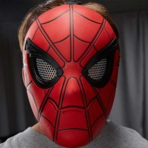 Spiderman Eve Dönüş Gözleri Hareketli Maske