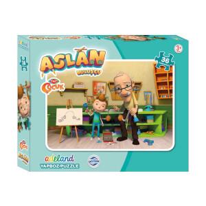 Aslan: 36 Parça Puzzle