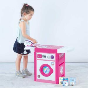 Dolu Unicorn Sesli Çamaşır Makinesi Seti