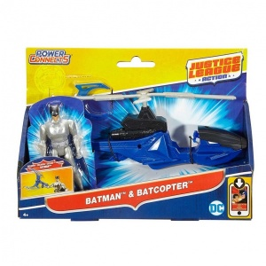 Justice League Aksiyon Araç ve Figür 12 cm.