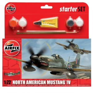 1:72 North American Mustang IV Model Kit Uçak