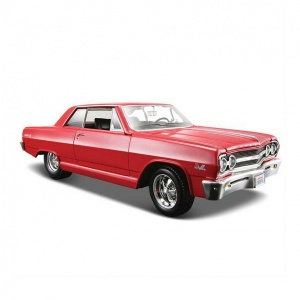 1:24 Maisto Chevrolet Malibu Ss 1965 Model Araba