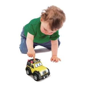 Bb Junior Sesli ve Işıklı Jeep