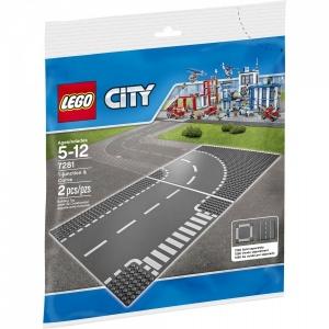 LEGO City T-kavşağı ve Viraj 7281