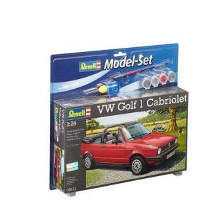 Revell 1:24 VW Golf Cabrio Model Set Araba