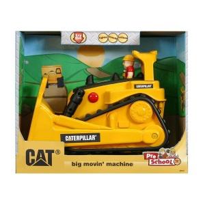 CAT Titreşimli Sesli ve Işıklı İş Makinasi