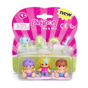 Pinypon 3'lü Bebek Figür Serisi
