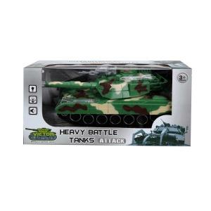 Sesli ve Işıklı Askeri Tank