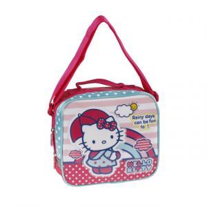 Hello Kitty Puantiyeli Beslenme Çantası