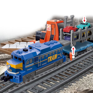 Işıklı Tren Seti 24 Parça