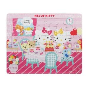36 Parça Puzzle : Hello Kitty Doğum Günü