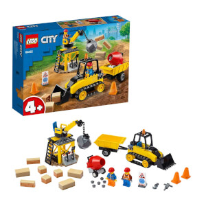 LEGO City Great Vehicles İnşaat Buldozeri 60252