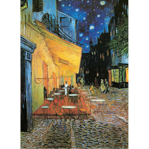 1000 Parça Puzzle : Cafe Terrace At Night - Vincent Van Gogh