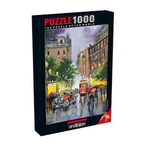 1000 Parça Puzzle : İstiklal Caddesi
