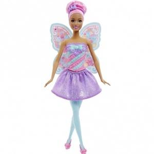 Barbie Sihirli Dönüşen Peri Kızı (Pembe Saç)
