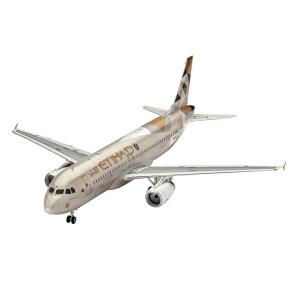 Revell 1:144 Model Set Uçak A320 Etihad