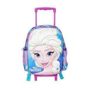 Frozen Elsa Çekçekli Anaokul Çantası 95227
