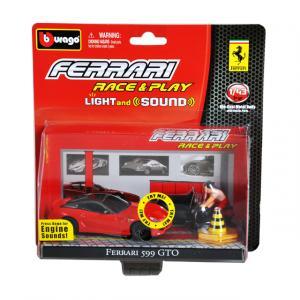 1:43 Ferrari 599 GTO Figürlü Araç Seti