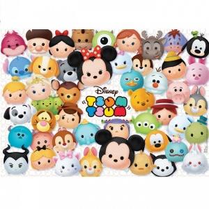 60 Parça Puzzle : Tsum Tsum
