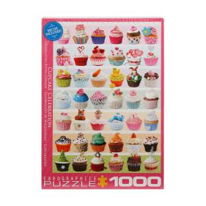 1000 Parça Puzzle : Cupcake Celebration