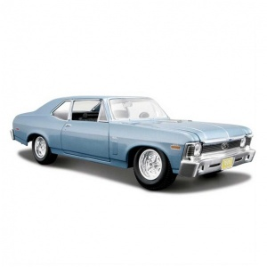 1:24 Maisto Chevrolet Nova Ss 1970 Model Araba