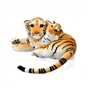 Kaplan ve Yavrusu 60 cm. Peluş