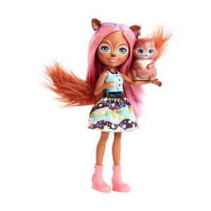 Enchantimals Popüler Karakter Bebekler FNH22 (Sancha Squirrel)