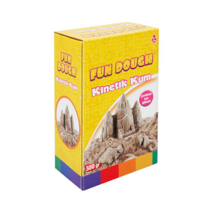 Fun Dough Kinetik Kum 500 gr. Natural