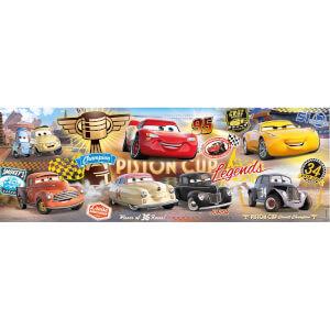 250 Parça Puzzle : Panorama Parade Cars