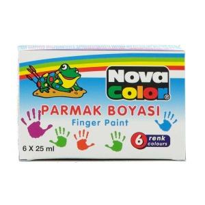 Nova Color Parmak Boyası 6'lı 25 ml.