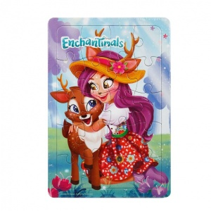 20 Parça Puzzle : Enchantimals Danessa Deer