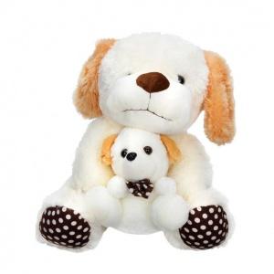 Köpek Yavrulu Peluş 40 cm.