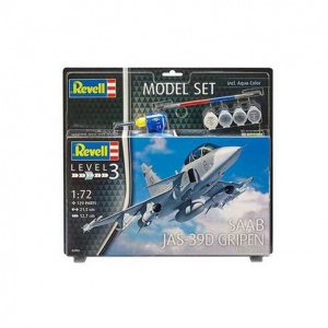 Revell 1:72 Saab Gripen Model Set Uçak 63956