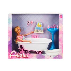 Alisha Bebeğin Banyo Keyfi