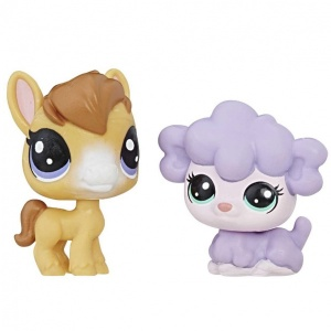 Littlest Pet Shop 2'li Mini Miniş (Dru-Kimmy)
