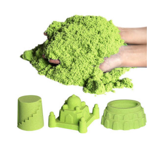 BuBu Kinetik Yeşil Kum 1000 gr