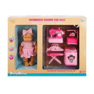Boubou Bebeğimle Temizlik Zamanı