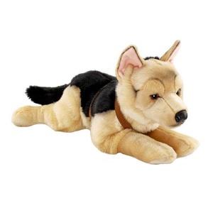 Yatan Alman Çoban Köpeği Peluş 60 cm.