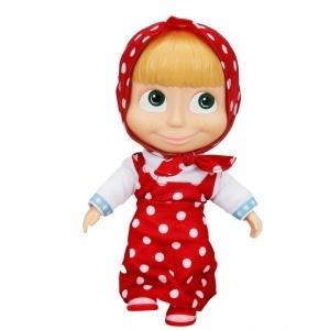 Maşa Bebek 23 cm. (Kırmızı Elbiseli)
