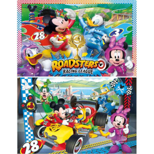 2x20 Parça Puzzle : Mickey and the Roadster Racers
