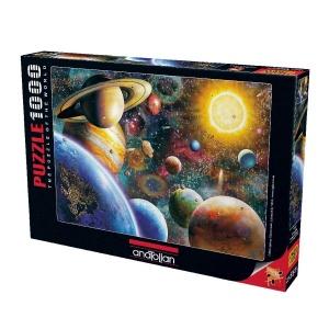 1000 Parça Puzzle : Gezegenler